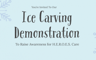 ice carving demonstration