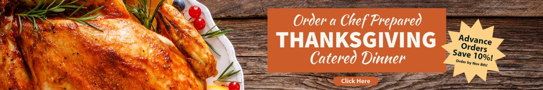 Thanksgiving Catered Dinner